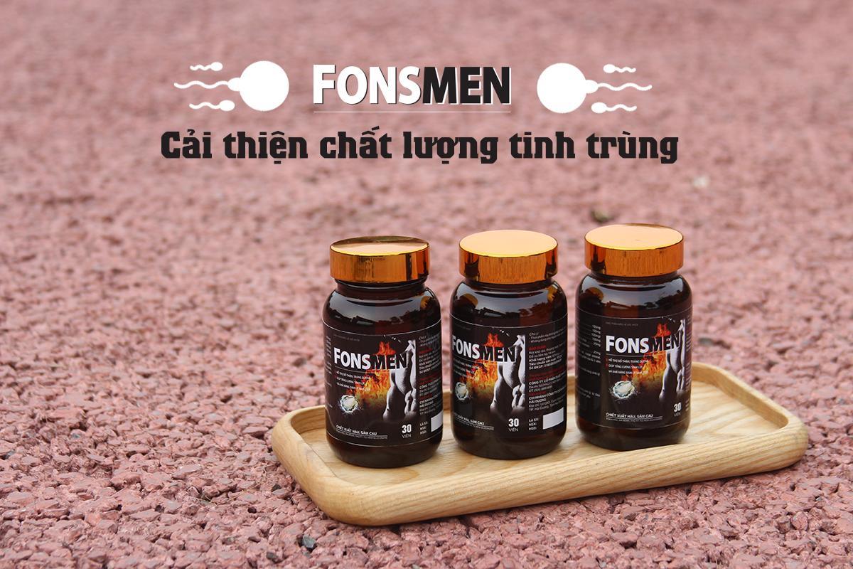 Fons Men - Cải thiện chất lượng tinh trùng