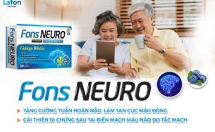 Fons Neuro – Sản phẩm tăng cường tuần hoàn máu não