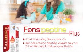Fons Peptine Plus – Bí quyết cho hệ tiêu hóa khỏe mạnh