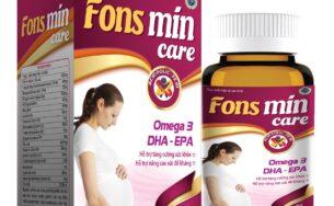 Fons Mincare – Tăng cường sức khỏe, nâng cao sức đề kháng