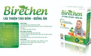 Birechen – Tăng cường sức khỏe cho hệ tiêu hóa, giảm táo bón.