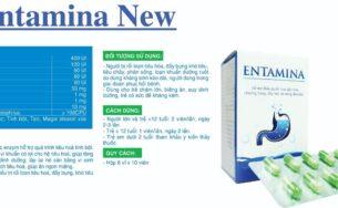 Entamina NEW – Cân bằng vi sinh đường ruột, kích thích tiêu hóa, giúp ăn ngon miệng.