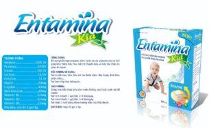 Entamina kid – Kích thích tiêu hóa, giúp trẻ ăn ngon.