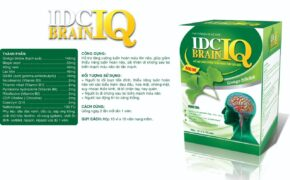 IDC Brain IQ – Hoạt huyết dưỡng não, tăng cường tuần hoàn não, giảm nguy cơ tắc mạch máu