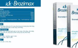 IDC Brozimax – Giảm viêm sưng hiệu quả