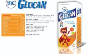 IDC Glucan – Tăng cường tiêu hoá, tăng cường hấp thu.