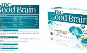 IDC Good Brain – Hoạt huyết, dưỡng não, tăng cường tuần hoàn não