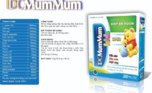 IDC Mum Mum – Tiêu hóa khỏe, trẻ ăn ngon