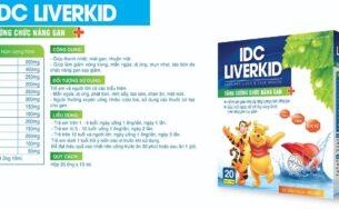 IDC Liverkid – Thanh nhiệt, mát gan, nhuận mật