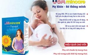 USA Mincare – Bổ sung dưỡng chất thiết yếu cho mẹ bầu và thai nhi