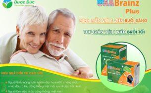 USA Brainz Plus – Tăng cường tuần hoàn máu não, giảm thiểu năng tuần hoàn não