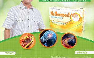 Nattocopeet – Lưu thông máu, giảm đau đầu, hoa mắt, chóng mặt
