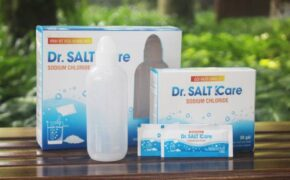 Dr Salt Kare – Gói muối sinh lý với nguyên liệu muối tinh khiết nhập khẩu từ New Zealand