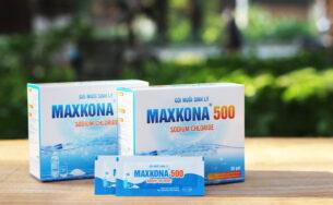 Gói muối sinh lý Maxkona 500 – Sản phẩm không thể thiếu trong tủ đồ đi sinh của mẹ